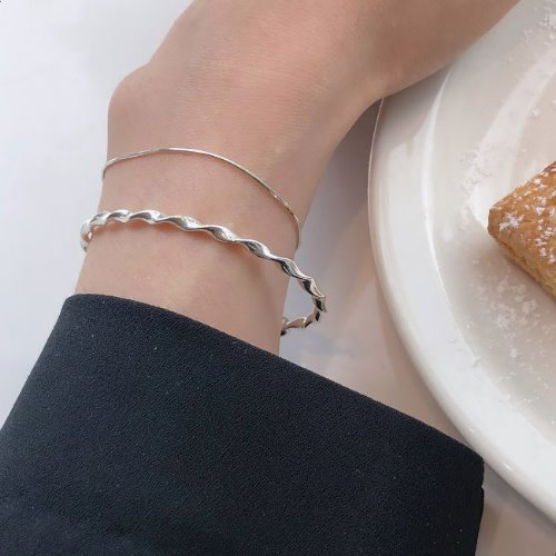 [화사착용] Twist ball bangle